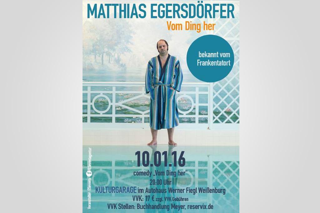 Matthias Egersdörfer | 10.01.16